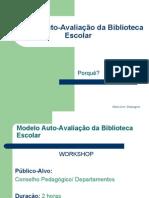 Modelo Auto-Avaliação da Biblioteca Escolar