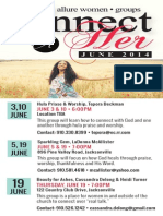 June ConnectHER Schedule