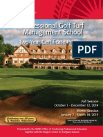 Rutgers Professional Golf Turf Management School