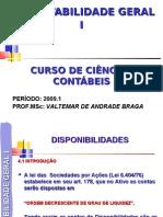 Contabilidade Geral I - Cap 4