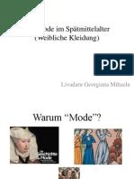 Die Mode Im Spätmittelalter