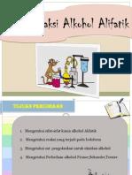 Reaksi Alkohol Alifatik
