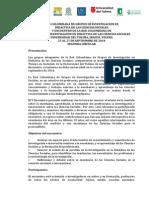 V ENCUENTRO DE LA RED COLOMBIANA DE GRUPOS DE INVESTIGACIÓN EN DIDÁCTICA DE LAS CIENCIAS SOCIALES UNIVERSIDAD DEL TOLIMA, IBAGUÉ, TOLIMA