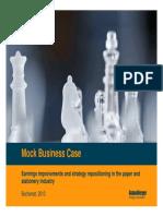 Roland Berger Practice Business Case 20100201