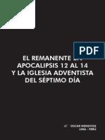 221815991 El Remanente en Apocalipsis 12al 14 Oscar Mendoza