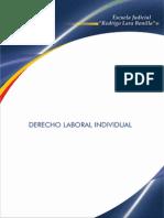 Derecho Laboral Individual - Escuela Rodrigo Lara Bonilla