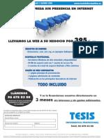 Promocion - Hospedaje y diseño web
