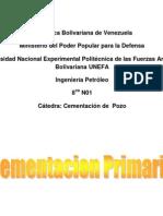 Cementación Primaria