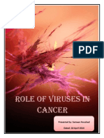 Role of Viruses in Cancer
