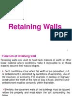 Retaining Wall s