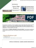 Ospitalita' Conventuale - Abbazie, Conventi, Monasteri in Italia