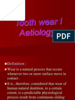 Tooth Wear I