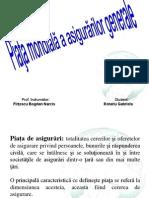 Piata Mondiala a Asigurarilor Generale- ROTARIU GABRIELA