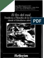 Villacañas- Kant y Weber o la disolución de la teodicea en ética