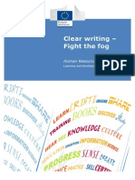 Clear Writing Manual En - fighting the fog