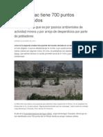 El Río Rímac Tiene 700 Puntos Contaminados