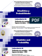 Statistics Lab 1 Spss