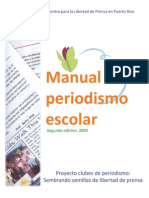 Manual de Periodismo Escolar