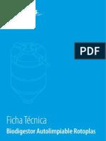 Ficha Tecnica Del Biodigestor Rotoplas