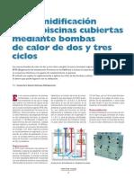 Articulo Tecnico de Piscina Climatizada en Revista SIGLO XX1