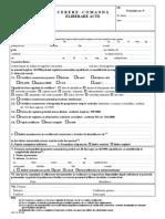 Certificat Constatator ONRC