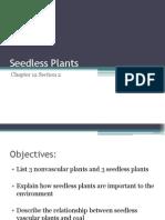 Seedless Plants Ch12.2 7th PDF