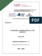 Manual Auditoría Gubernamental y de Gestión 1