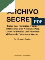 Archivo Secreto, Alejandro Pagliari