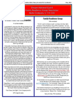 1st FRG Newsletter May 2014.