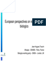 EU Perspective on BIOLOGICS