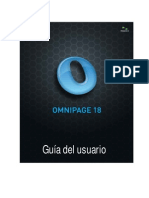 Manual Omnipage Profesional 18
