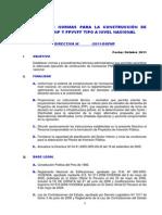 Nueva Directiva Tipo Comisaria-2011