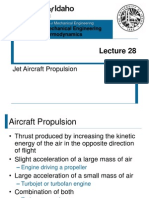 Jet Aircraft Propulsion example question
