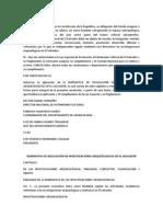 Normativa de Regulación de Investigaciones Arqueólogicas en El Salvador