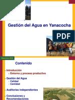 Gestion Del Agua en Yanacocha