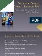 """Análise do Poema """"Segue o teu Destino"""", de Ricardo Reis"""