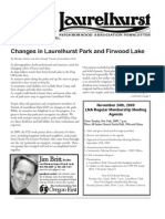 Laurelhurst Neighborhood Association Newsletter - November 2009