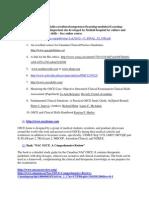 NAC OSCE list of resources