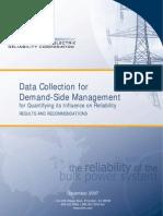 Comm-PC-Demand Response Availability Data System Workin1-NERC_DSMTF_Report_040308