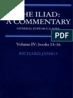 Iliad commentary Janko 13-16