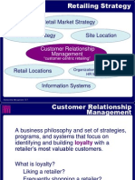 An Introducing to the Retailing System