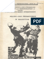 "Anti Repressions Info Nr.1 ""Wildes Huhn"""