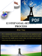 12 Step Goal-Setting Process-Brian Tracy