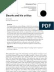 Lukes - Searle and His Critics