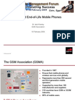 Used and End-Of-Life Mobile Phones