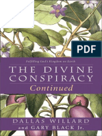 The Divine Conspiracy Continued (excerpt)