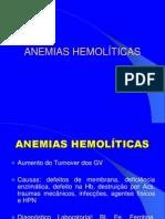 Anemias Hemolíticas 2014