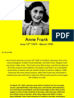 anne frank powerpoint world history 1