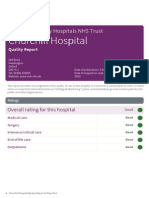 CQC Churchill report