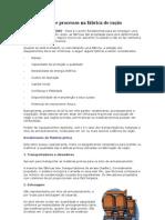Equipamentos e processos na fábrica de ração